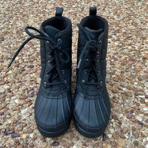 Sperry Top Sider Black Duck Waterproof Boots
